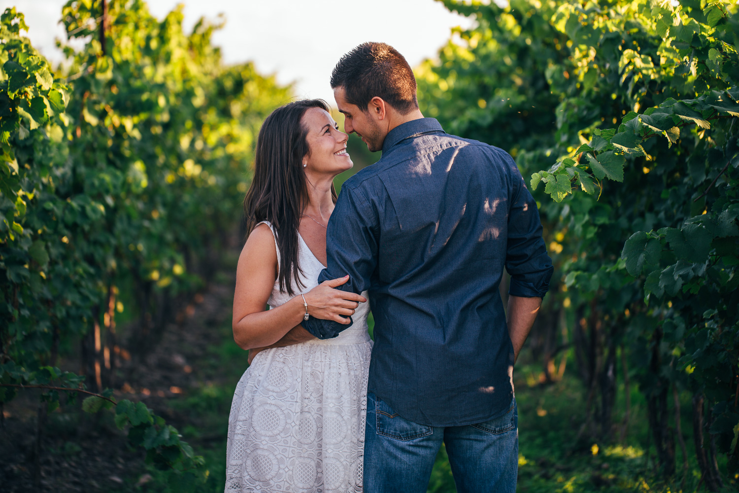 Honsberger Estates Winery Engagement Photography