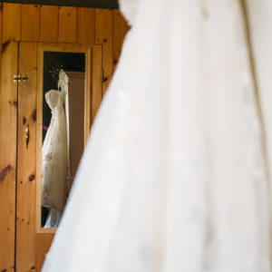 Niagara Backyard Country Wedding Dress