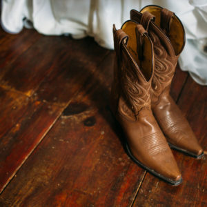 Niagara Backyard Country Wedding Shoes