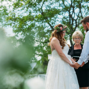 Niagara Backyard Country Wedding