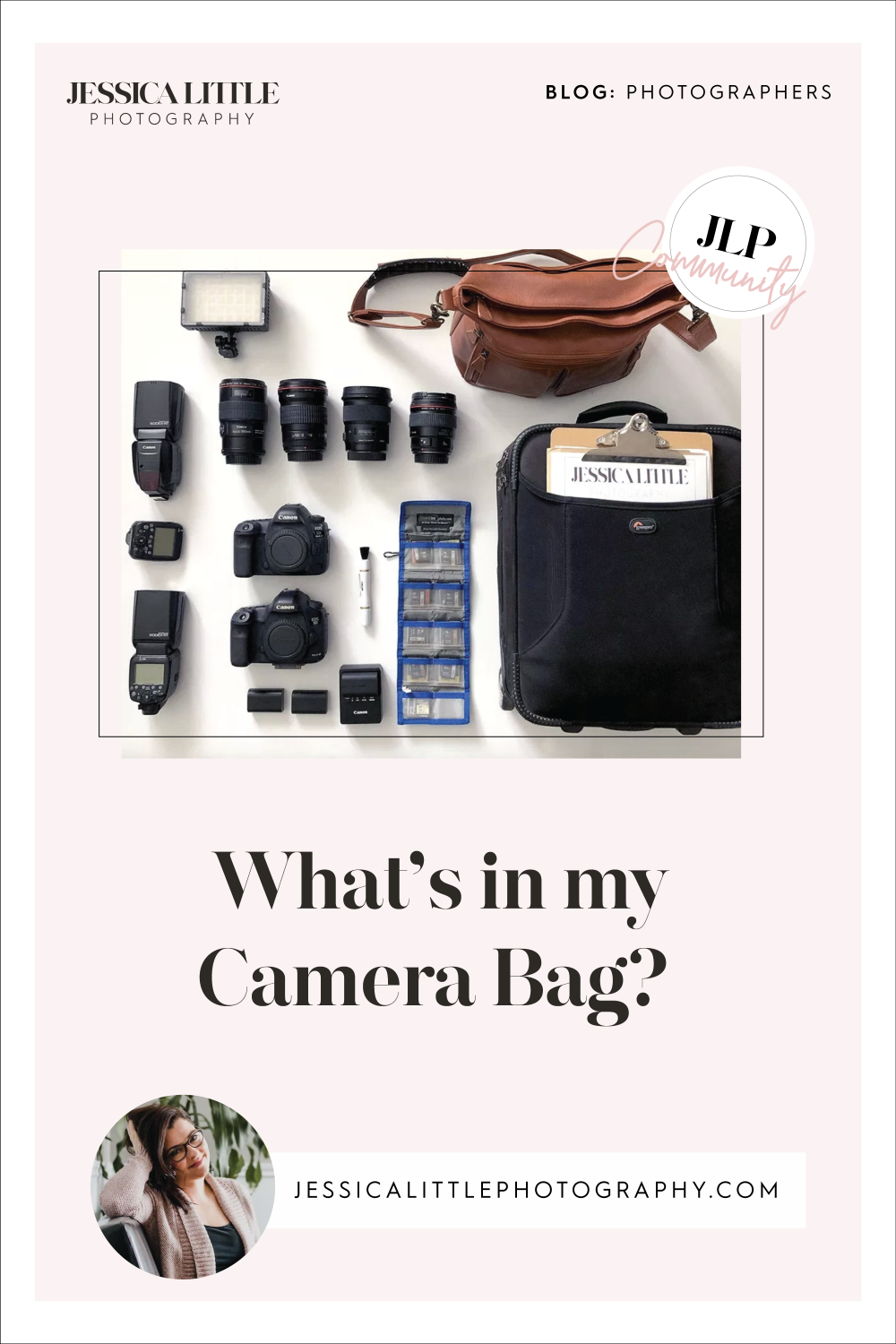 Image of What's in My Camera Bag?