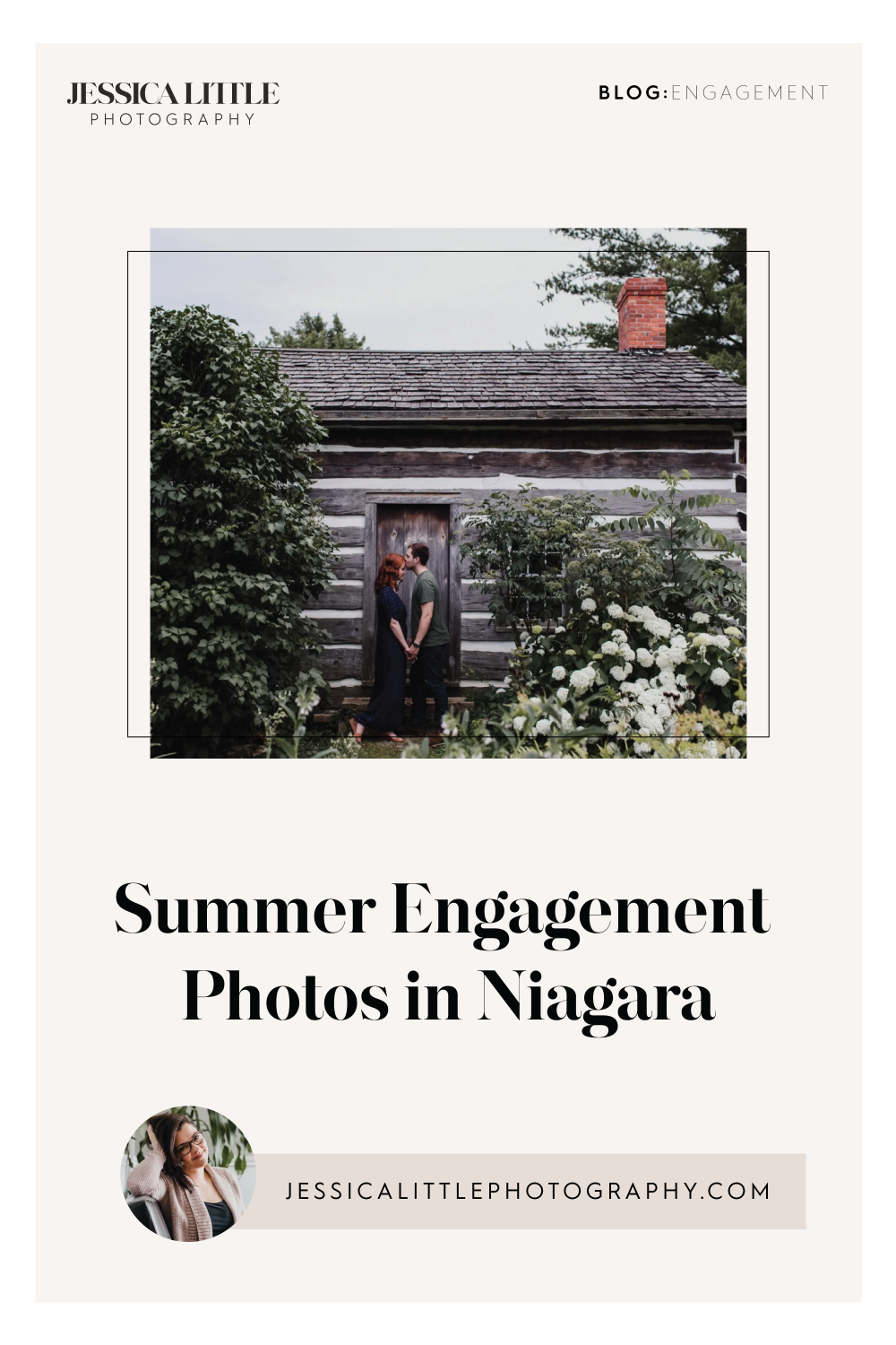 Image of Summer Engagement Photos in Niagara